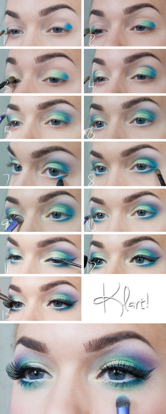 Makeup tutorial blue eyeshadow image collections any tutorial wonderful pastel makeup tutorials wonderful pastel makeup idea for blue eyes baditri image collections baditri Image collections