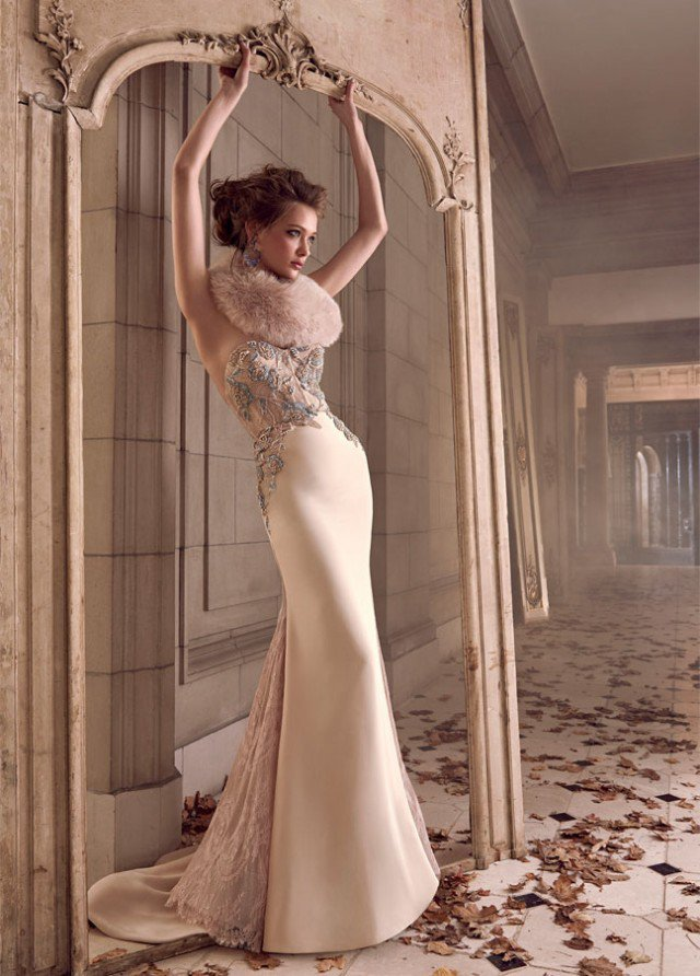 lazaro-bridal-silk-trumpet-sheer-corseted-chantilly-lace-floral-strapless-sweetheart-fitted-godets-chapel-3506_zm-640x892