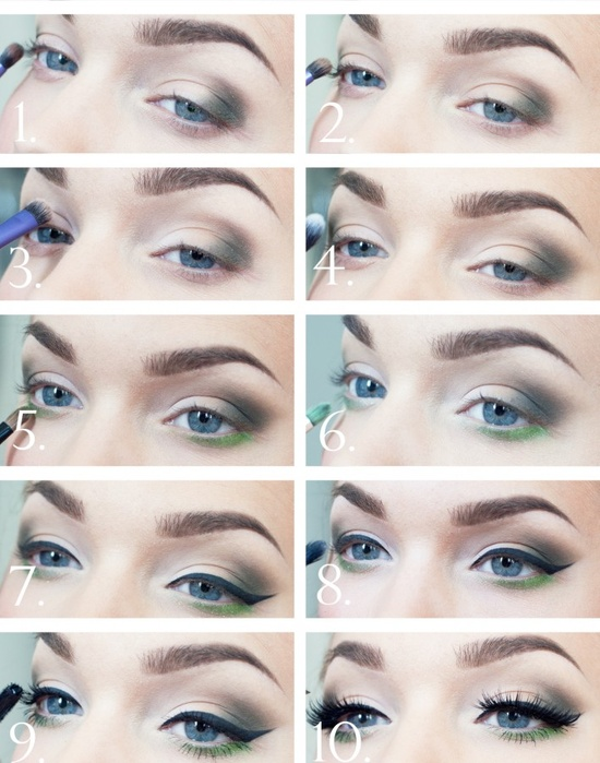 10 Step-By-Step Makeup Tutorials For Blue Eyes
