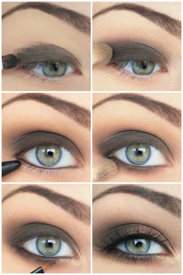 Eyeshadow For Brown Eyes: Great Makeup Tutorials For Green Eyes