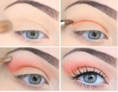 wonderful makeup tutorial with pastel colors