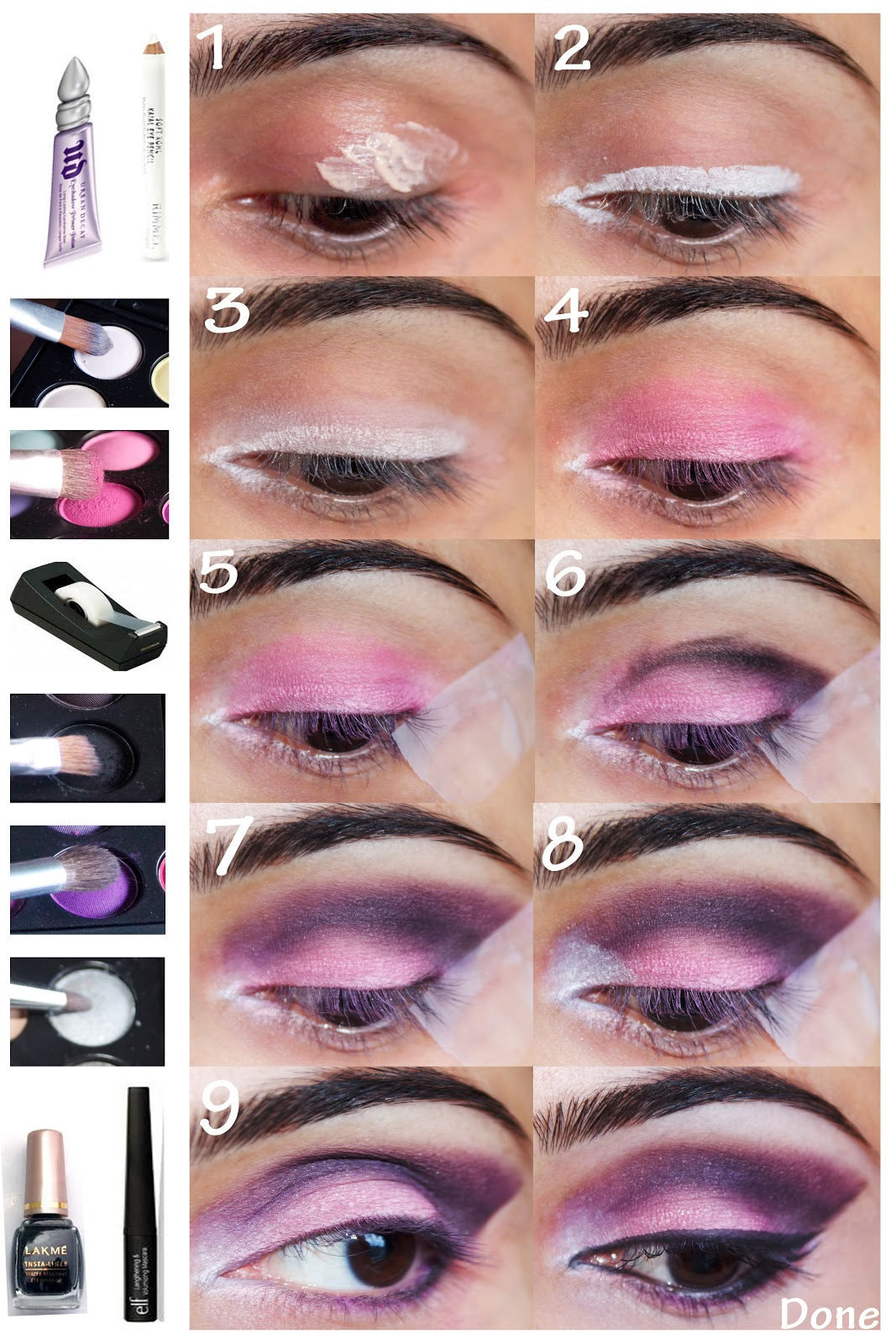 Amazing purple makeup ideas you should try pink and purple makeup idea baditri Choice Image