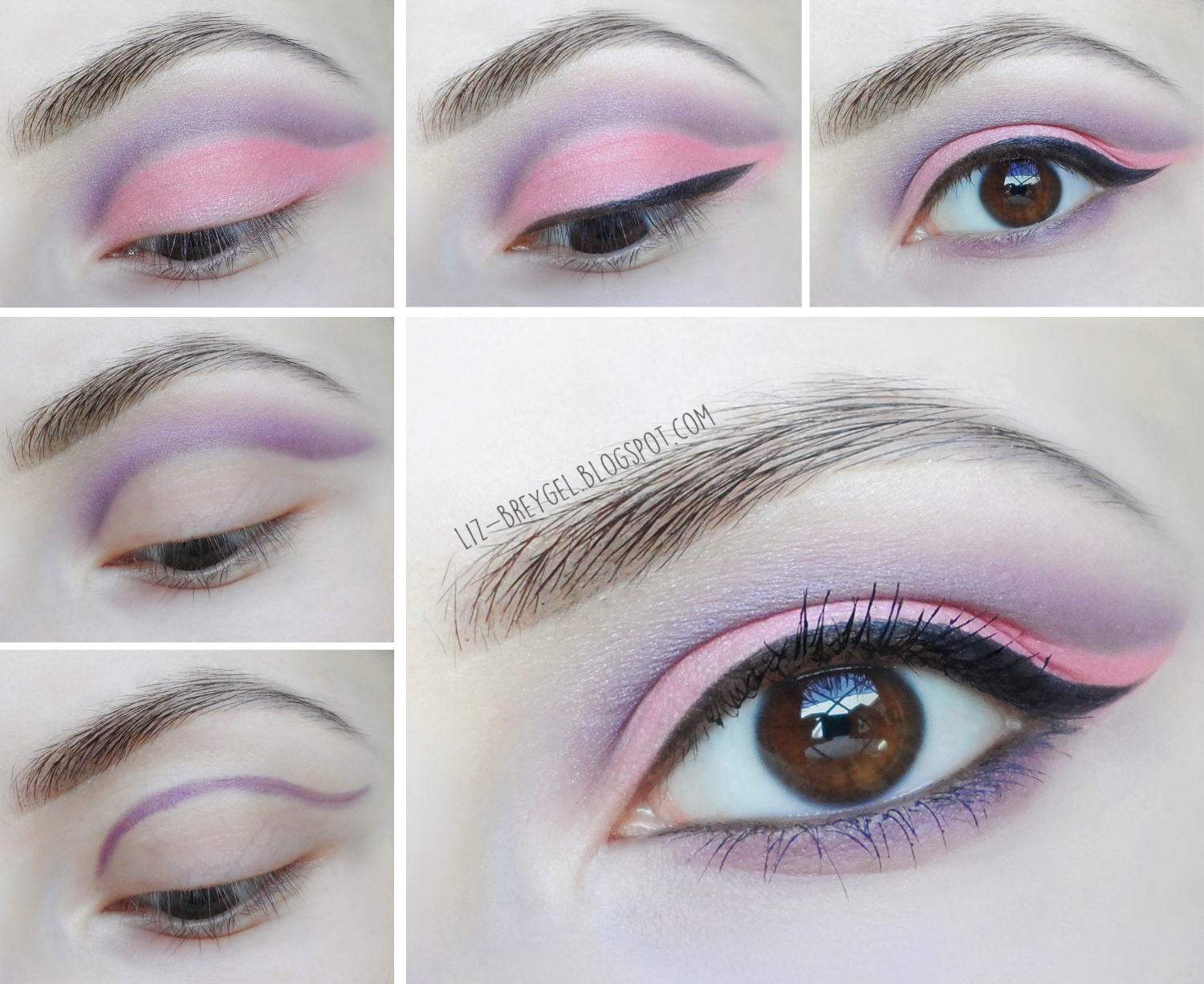 Great Pastel Makeup Idea With