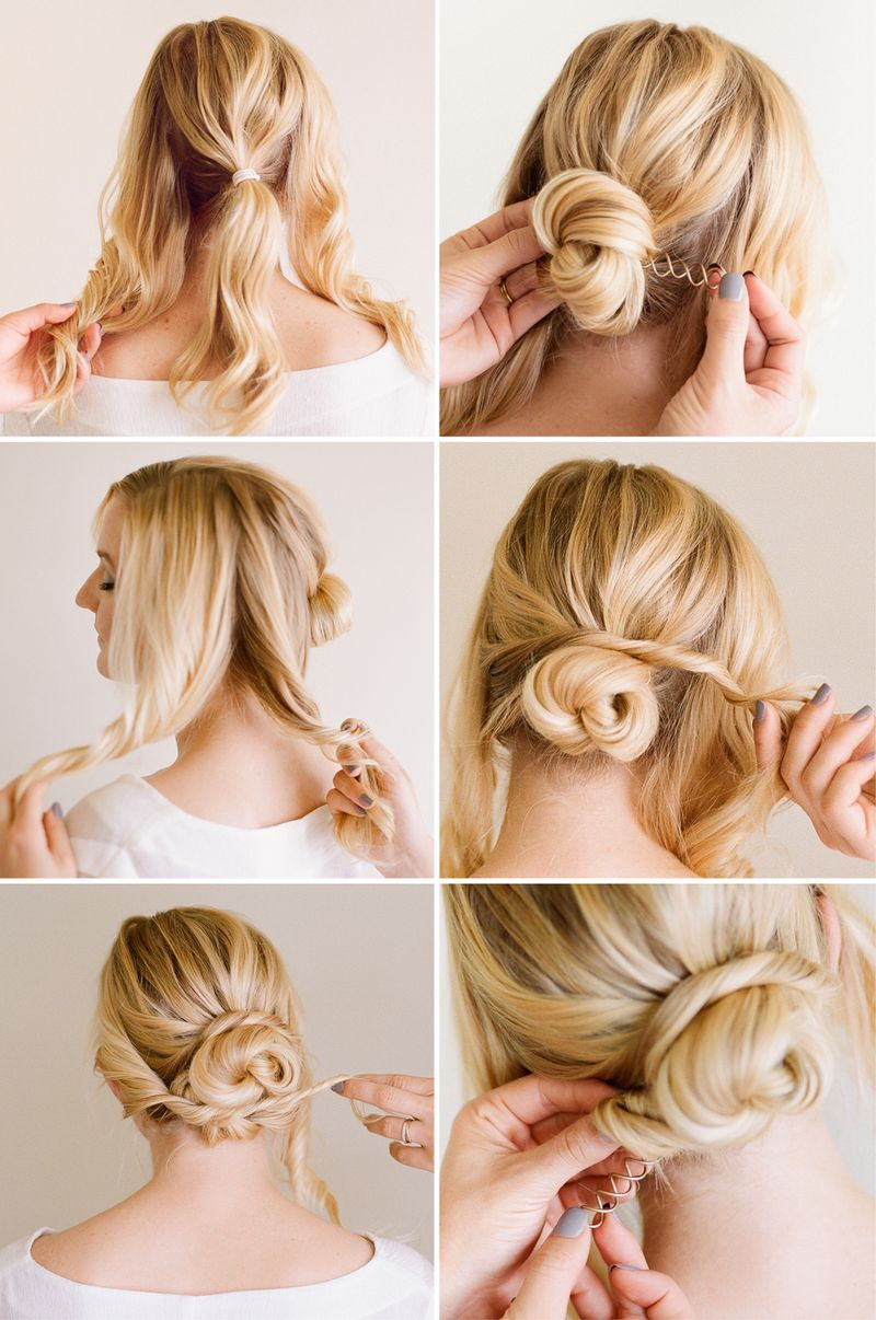12 Great Step By Step Updo Hair Tutorials