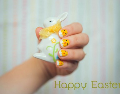 Easter nail design
