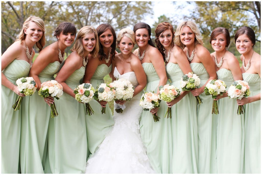 7 spring wedding colors for bridesmaid dresses for Spring wedding bridesmaid dress colors