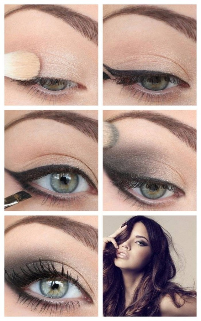 Eyeshadow For Brown Eyes: 15 Must-See Evening Makeup Tutorials