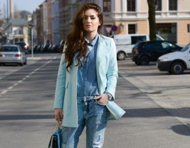 Denim on denim - hot fashion trend