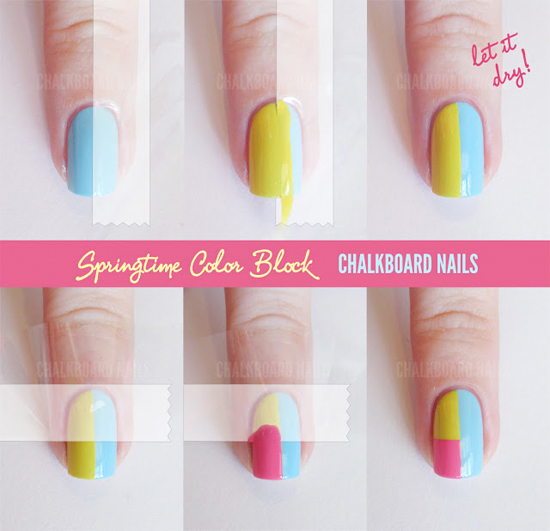 Easy Nail Art Tutorial Step By Step ~ Easy nails designs step by ...