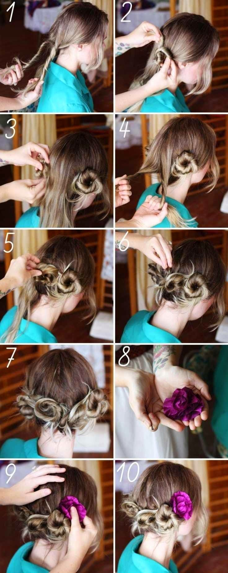 10 Step-By-Step Hair Tutorials With Accessories