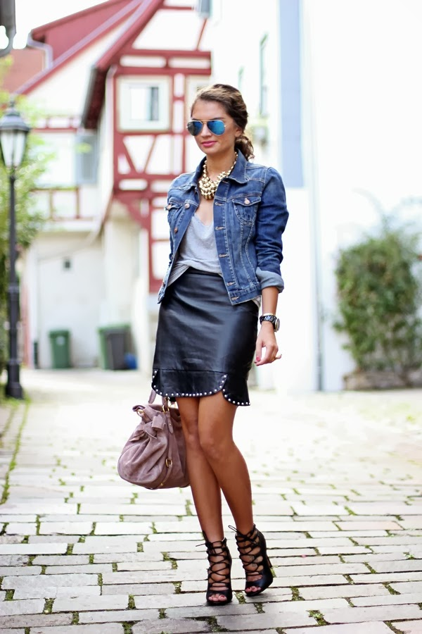 How To Wear Denim Jacket This Spring