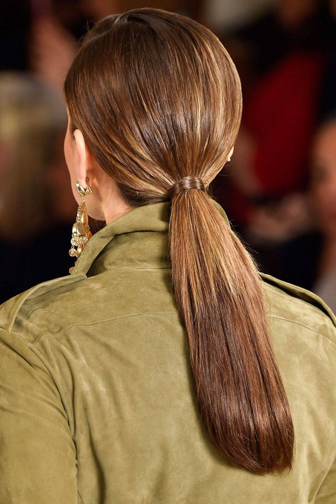Low Ponytail - Trendy Hairstyle For This Spring