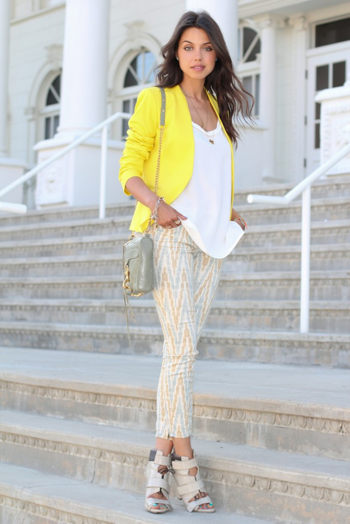 Trendy Spring Yellow Outfit Combinations