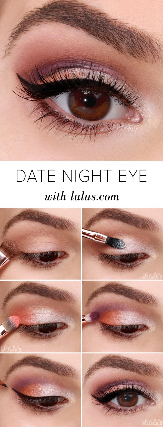 Eyeshadow Tutorial Videos: 12 Step-by-Step Makeup Tutorials For A Night Out