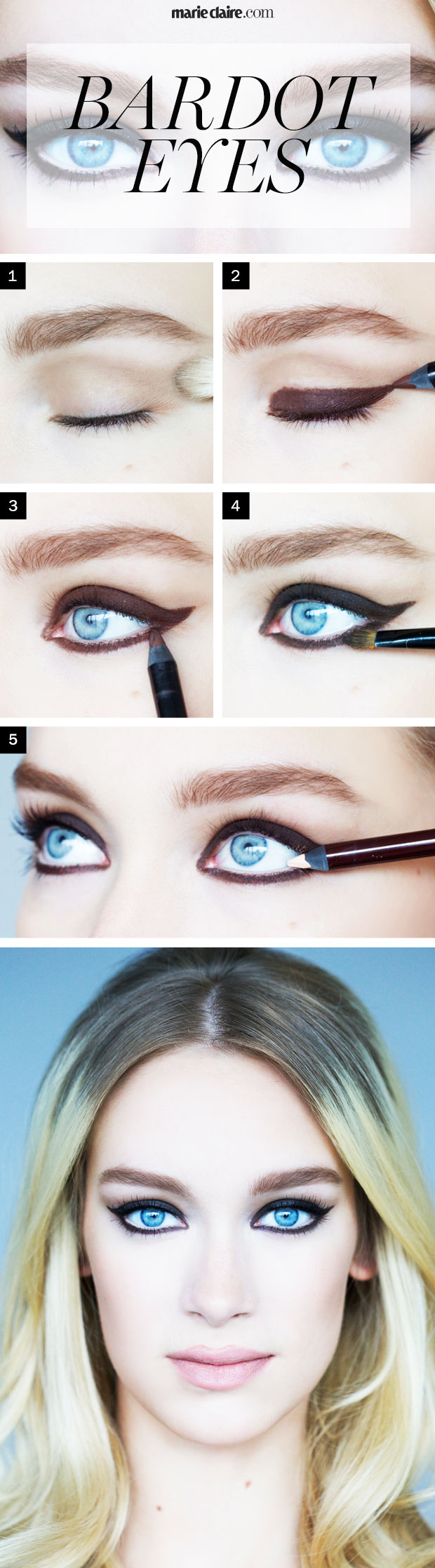 how to make eyeliner look good