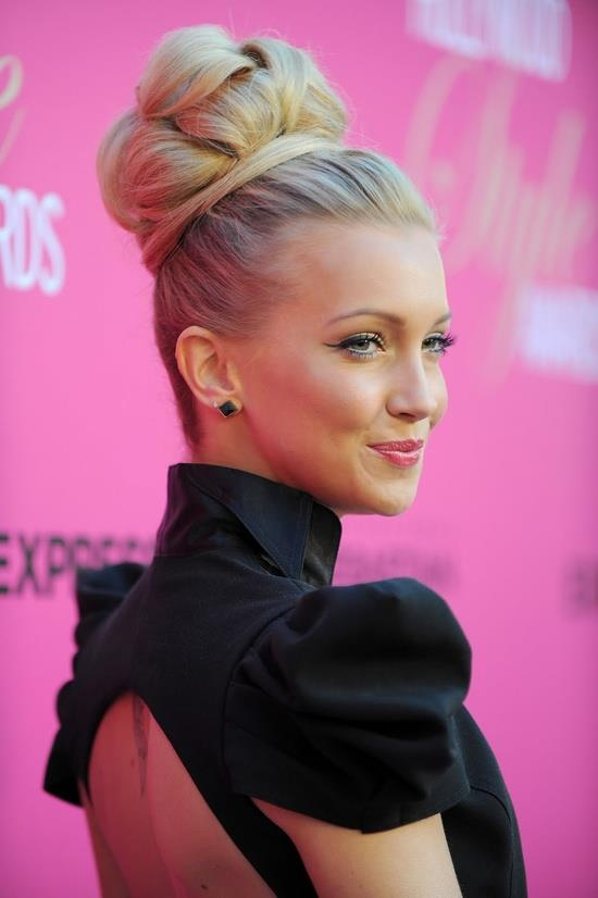 Elegant Big Bun Hairstyle Ideas