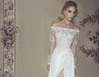 Glamorous wedding dresses by Dany Mizrachi