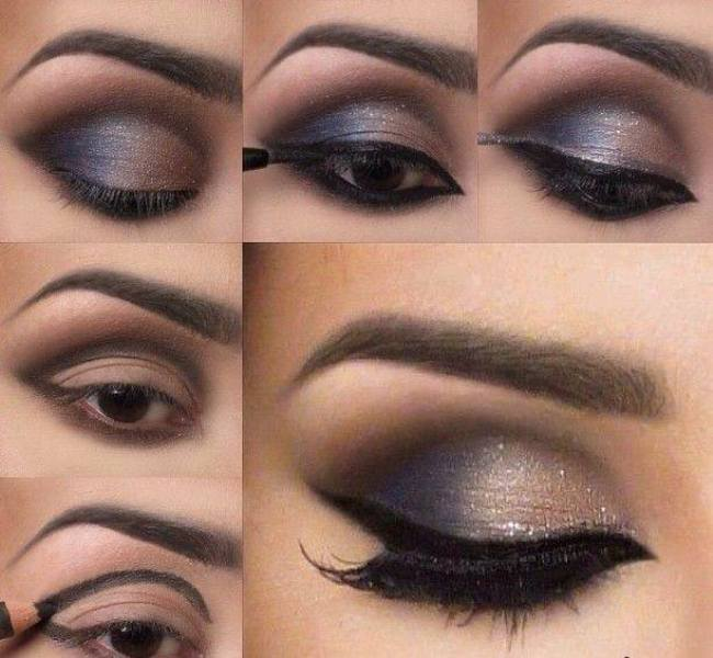 12 step by step makeup tutorials for a night out Fashion makeup and style tips