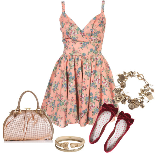 Great Polyvore Combos With Spring Dresses