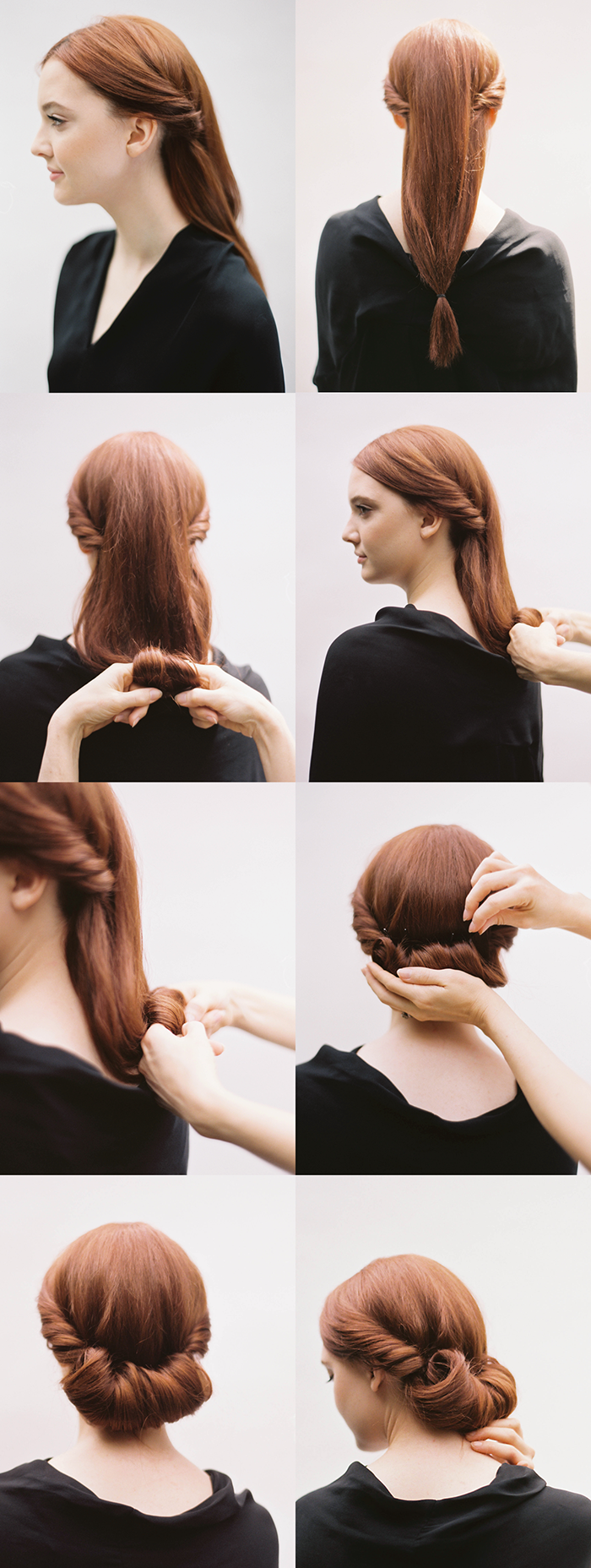 Easy step by step hair tutorials for all hair types Diy fashion of hairstyle