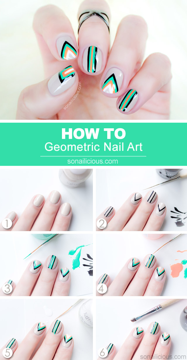 10 Easy Step-by-Step Nail Tutorials You Must See