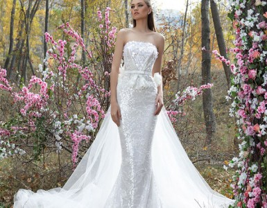 Stunning evening and wedding dresses by Firas Abou Hamdan