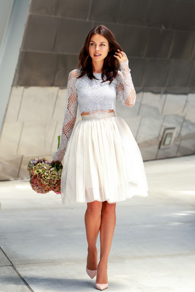 Fancy Outfit Looks With Tulle Skirts