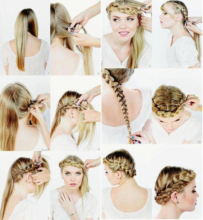 Pleasant How To Do Braided Crown Hair Braids Hairstyle Inspiration Daily Dogsangcom