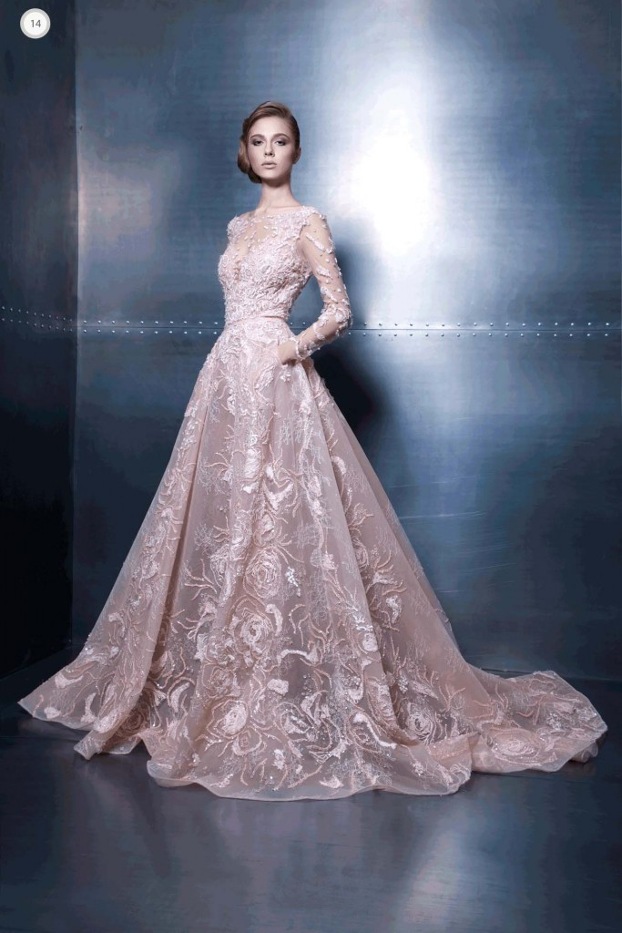 """""""Elegance Vibes""""- Haute Couture 2015 Collection By Ziad Nakad"""