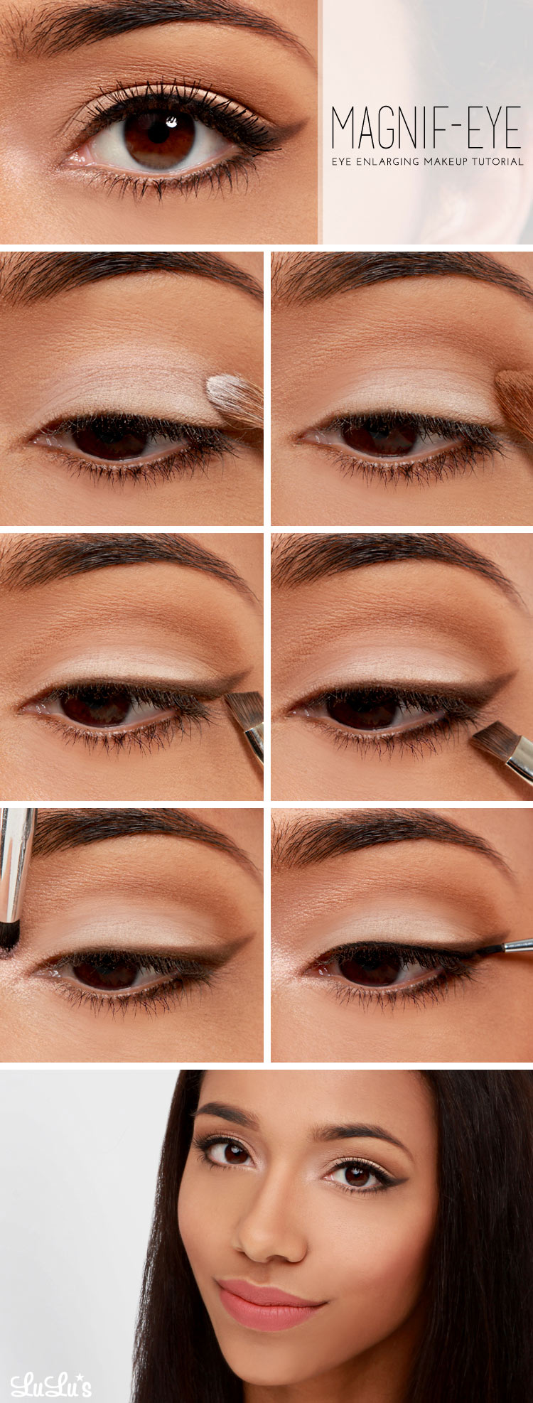 Doe eyes makeup tutorial cat eye makeup easy step by step makeup tutorials baditri Choice Image