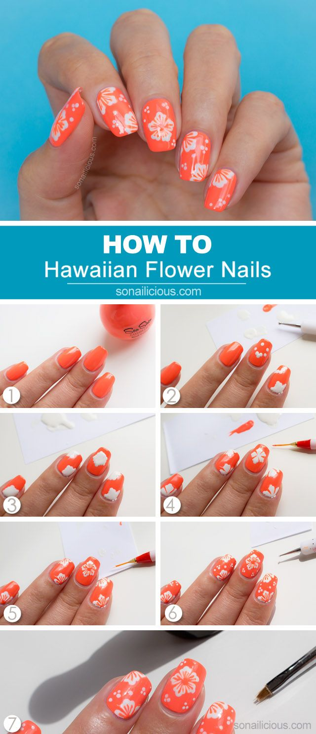 The Best Step By Step Summer Nail Tutorials