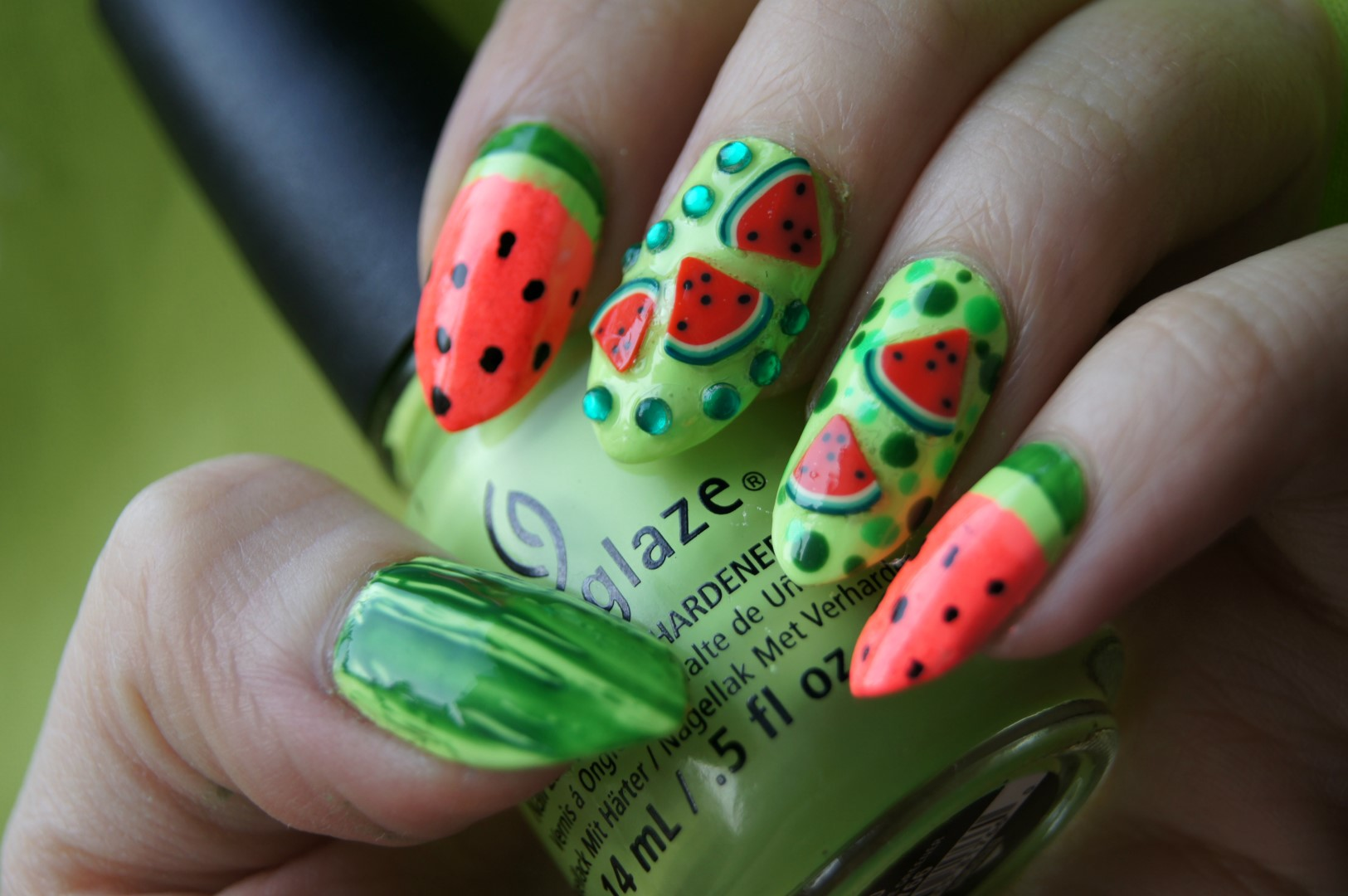 15 Impressive Summer Stiletto Nail Designs