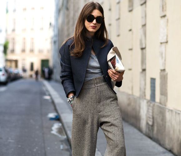 High-Waist Pants - Another Fall Fashion Trend