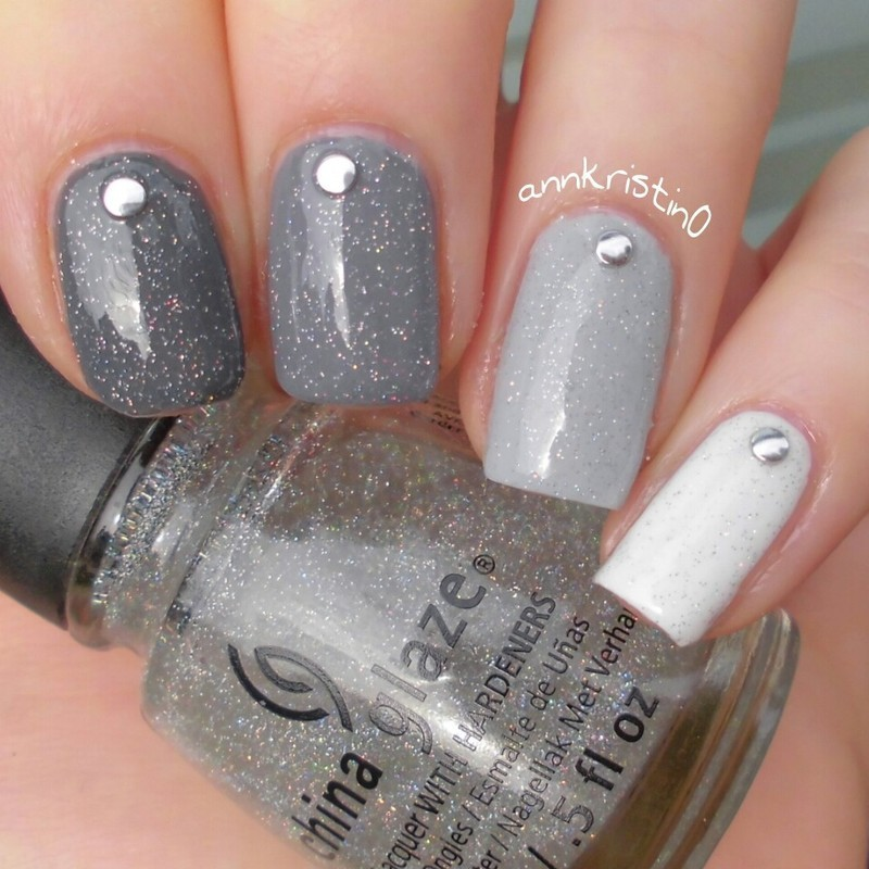 5 best nail polish colors for fall 2015 grey nail designs prinsesfo Images