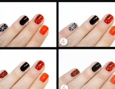 Spider-Web-Halloween-Nail-Art-How-To-2
