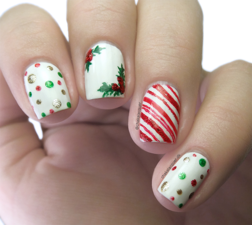 Easy Christmas Nail Art: 15 Wonderful Christmas Nail Designs You Have To See