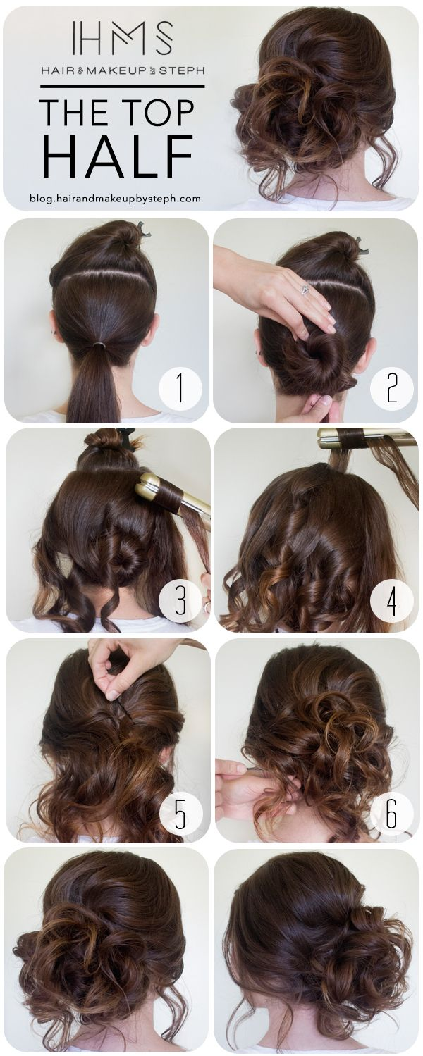how to the top half
