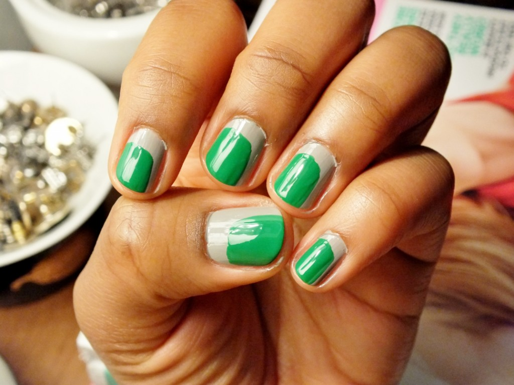 st-patricks-day-nail-art-green-and-gray