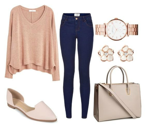 pink polyvore