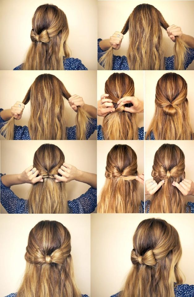 Fabulous Half Up Hairstyle Tutorials