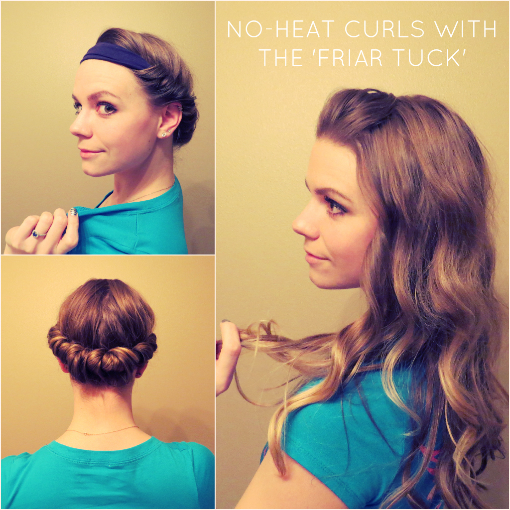 ways to style your hair overnight how to do no heat curls and waves 4946