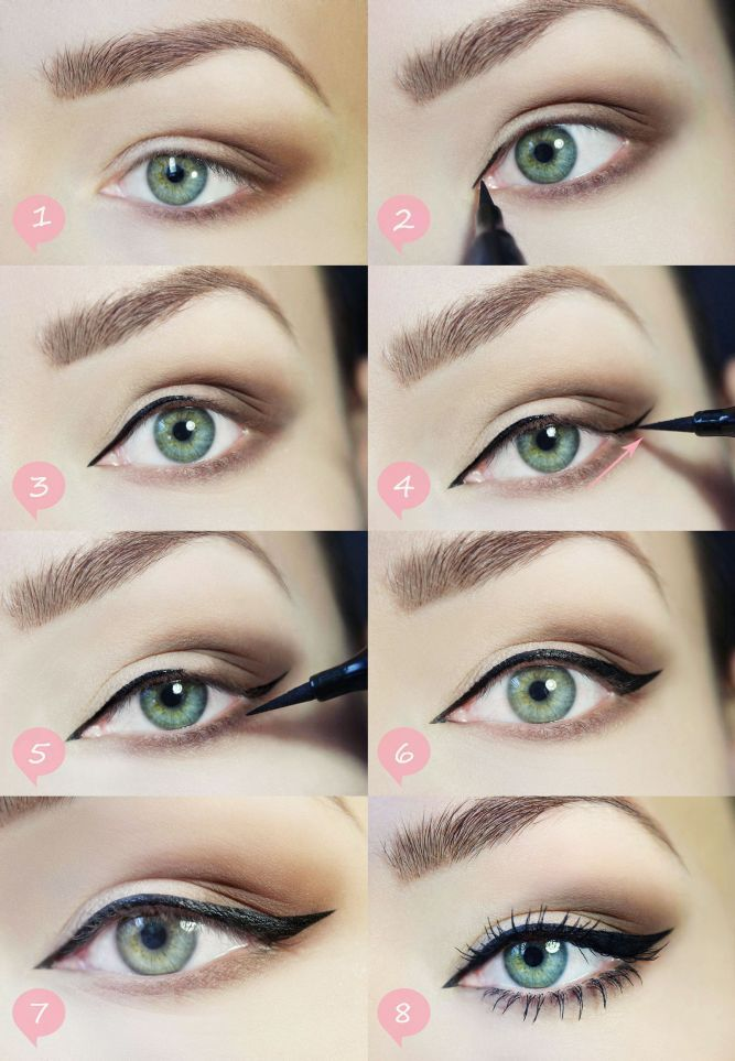 Eyeliner Step By Step Pictures