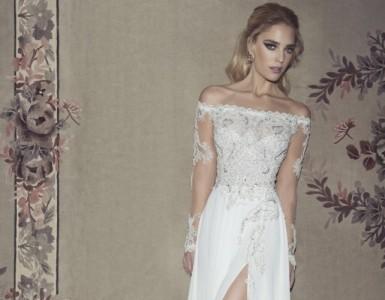 Glamorous wedding dresses by Dany Mizrachi