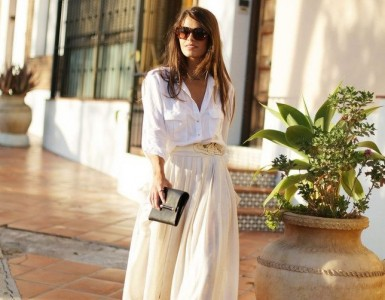 how to wear white shirt this summer