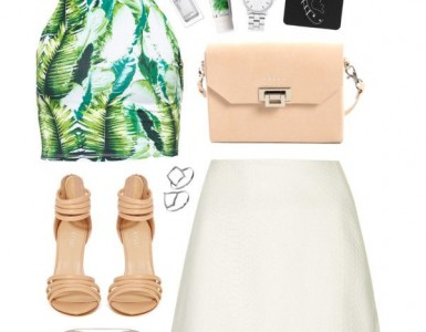 tropical polyvore