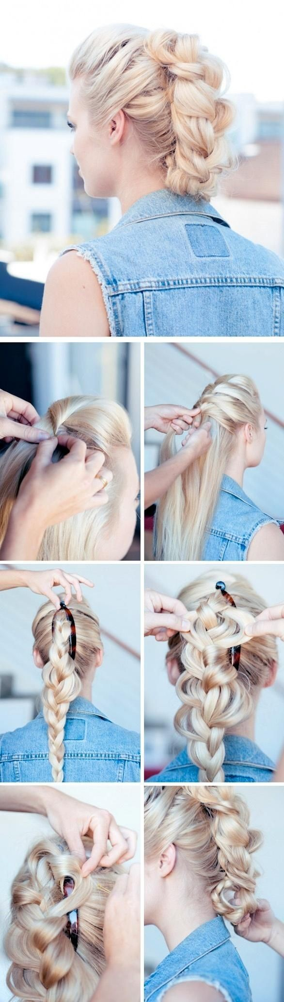 Braided-Updo-Hair-Styles-Tutorial-Faux-Hawk-Updos
