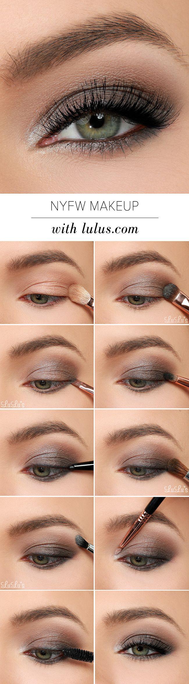 step-by-step makeup tutorial