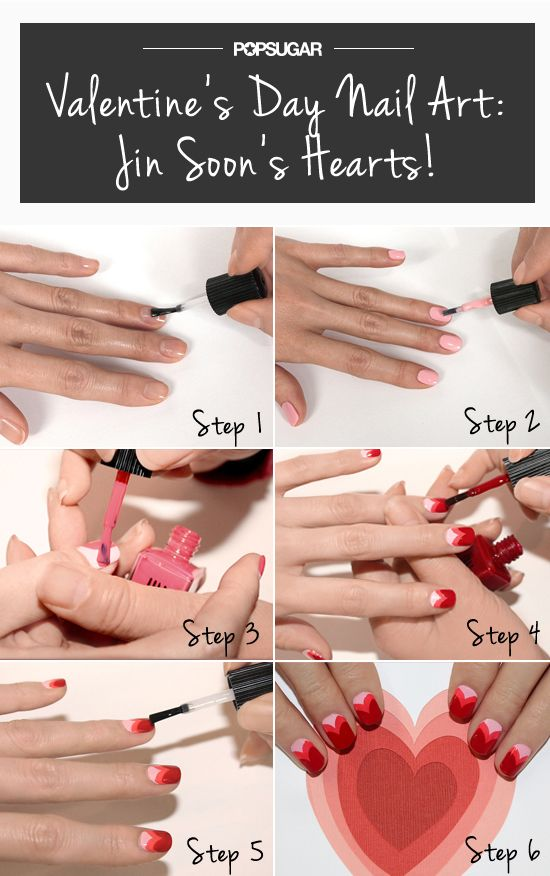 Valentines-Day-Nail-Art-DIY-Ideas-that-Youll-Love8
