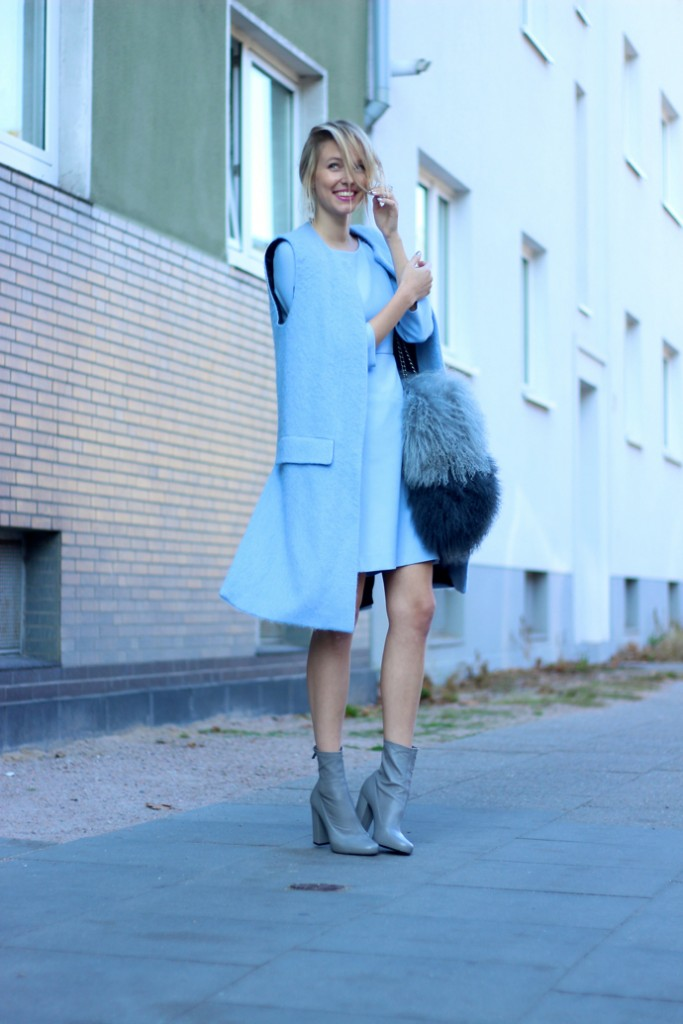 serenity blue outfit