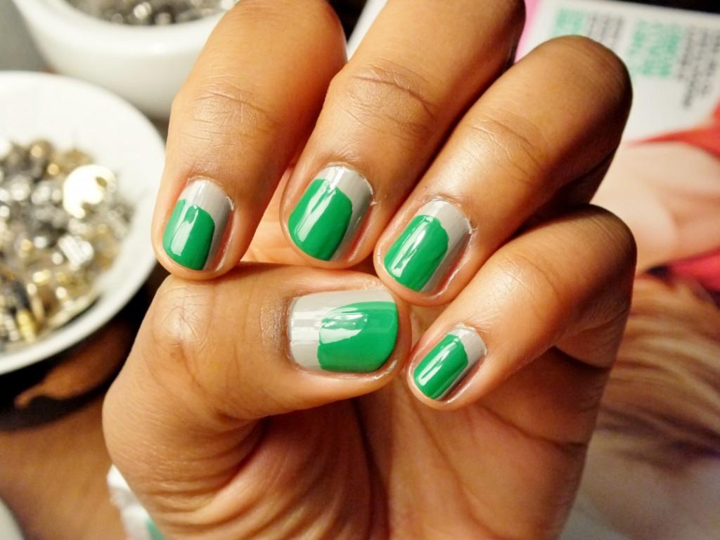 st-patricks-day-nail-art-green-and-gray